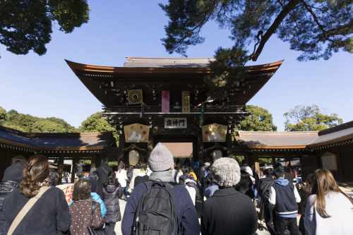 Meiji Jingu entrata-min